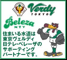 東京ヴェルディ 日テレ・ベレーザのサポーティングです